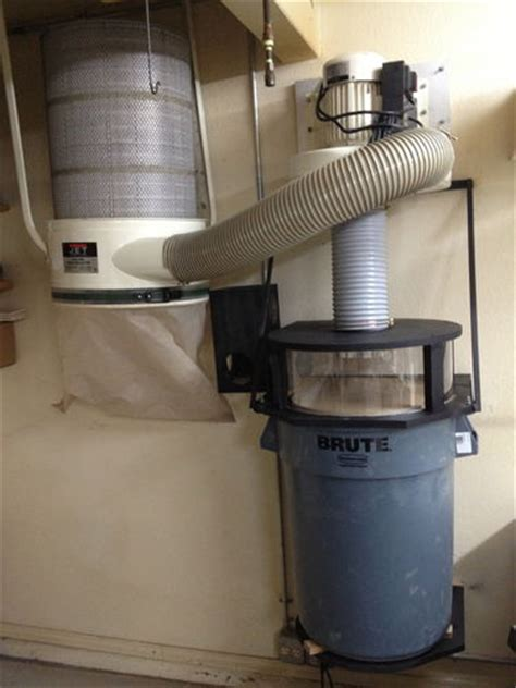 Cyclone Dust Collector Diy Filter Tablesaw Dust Separator Pemisah Se thein dust collection top hat separator by mbs