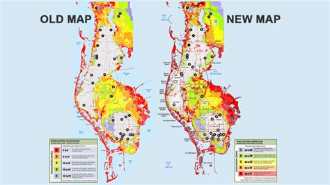 major changes made to pinellas co evacuation zones