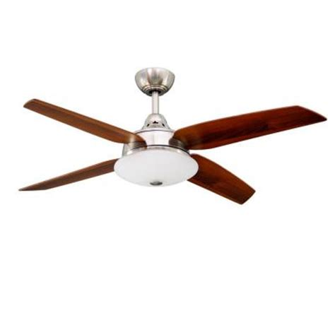 hton bay casselberry 52 in brushed nickel ceiling fan