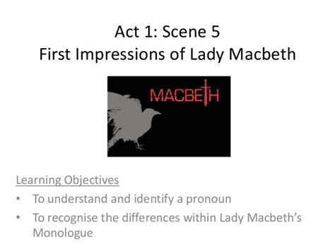 macbeth act 5 scene 1 ofsted outstanding lesson by macbeth act 1 scene 5 presentation