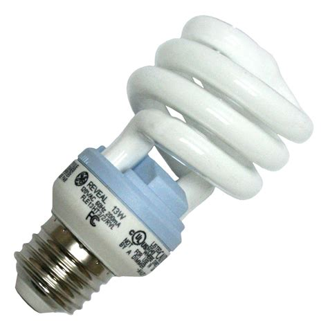 Ge Fluorescent Light Bulbs by Ge 75406 Fle13ht3 2 Rvl Cd Twist Medium Base