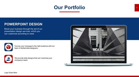 sleek powerpoint templates free sleek portfolio powerpoint templates