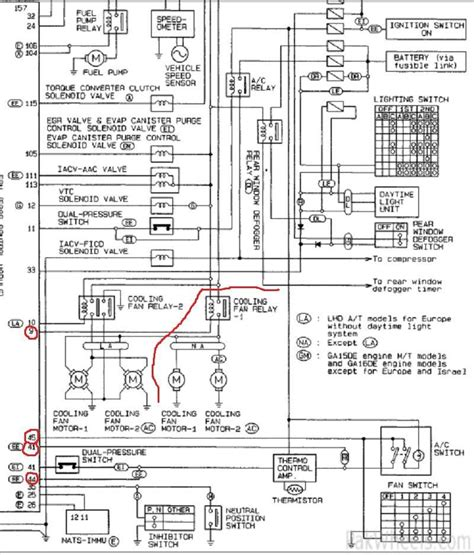 nissan ga15de wiring diagram wiring diagram schemes