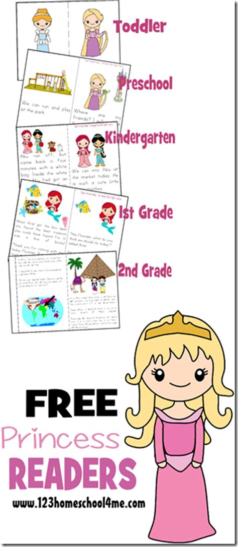 free printable leveled readers for second grade free princess reader printable books free homeschool deals