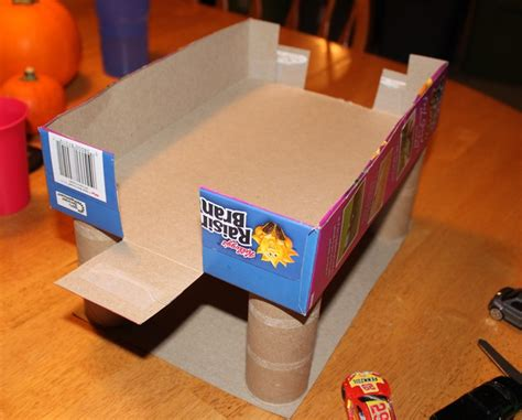 10 cool diy toy box projects kidsomania cereal box parking garage
