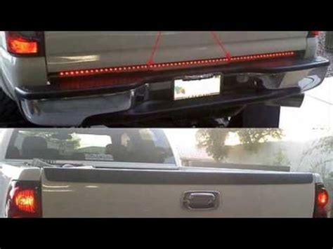 recon tailgate light bar recon led tailgate light bar