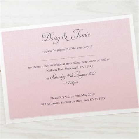 Evening Wedding Invitations by Elizabeth Evening Invitation Wedding Invites