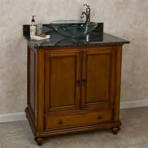 "36"" Weston Vanity for Vessel Sink   No Faucet Holes   3/4"