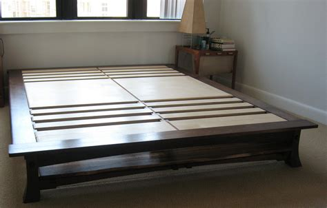 King Platform Bed Frame With Headboard Low King Size Platform Bed Without Headboard Platform