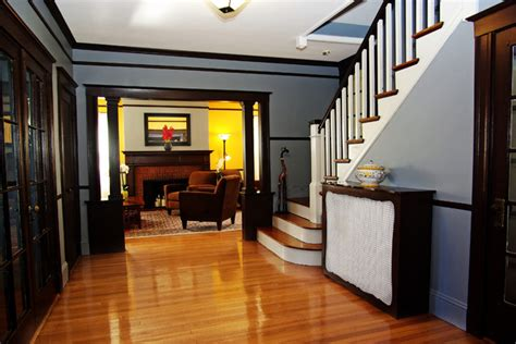 arts and crafts home interiors arts and crafts home traditional entry boston by