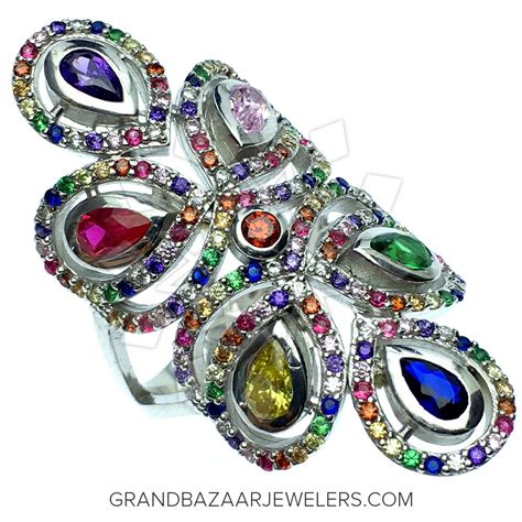 colorful rings colorful rainbow rings gbj313rg35465