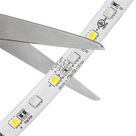 Lighting Strips Led Outdoor Rgbw Led Lights Weatherproof 12v Led Light W White And Multicolor Leds