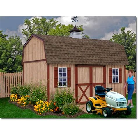 Best Barns Shed Kits by Best Barns Homestead 12x16 Ft Wooden Shed Kit On Sale