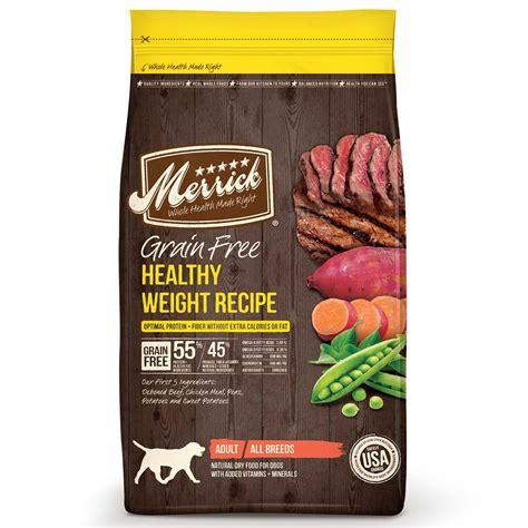 merricks food merrick grain free healthy weight food petco