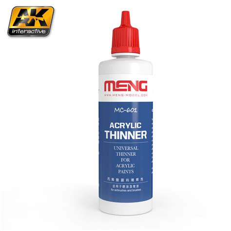 Acrylic Mc acrylic thinner ak interactive the weathering brand