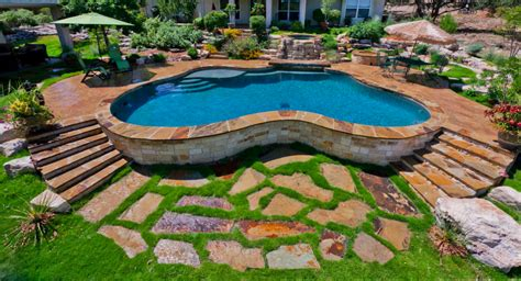 backyard oasis pools and construction attractive backyard oasis ideas