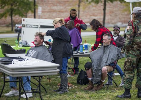 haircuts downtown bend michiana stand down for returning and homeless vets