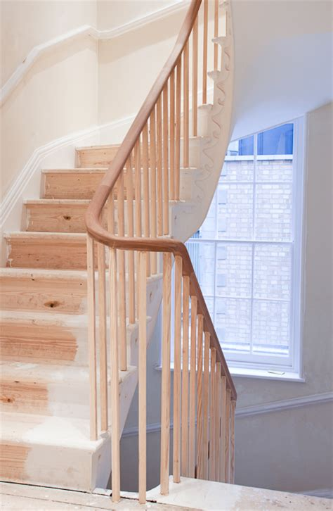 continuous handrail carpentry  london hammersmith