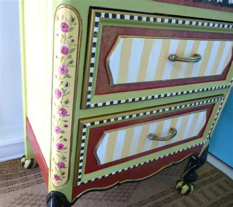 Order Custom Furniture by Custom Painted Furniture Made To Order Reserve By Whimsyburd Painted Furniture