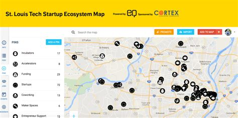 st interactive map introducing stltechmap a new interactive ecosystem map