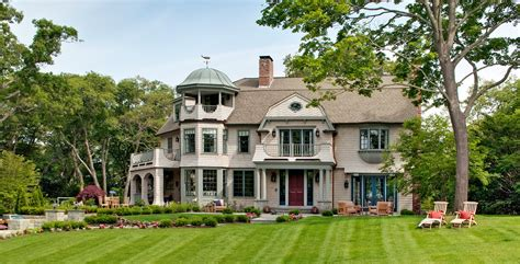 Rennovations by Shingle Style Architecture Boston Shingle Style Home