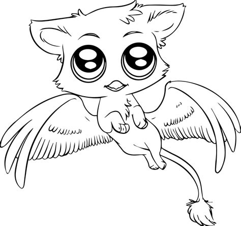 coloring pages cute animal coloring pages for kids baby