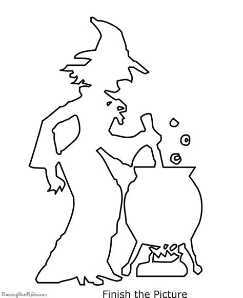witch coloring pages preschool 190 best printable activities for kids images on pinterest