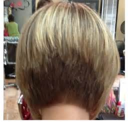 how to cut hair in a stacked bob stacked bob hairstyles back view stacked bob back view
