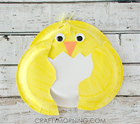 paper plate chicken craft paper plate craft for crafty morning
