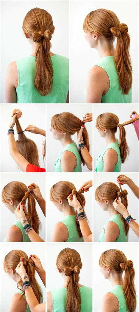 simple hairstyles easy to make 17 best ideas about bow ponytail on pinterest easy
