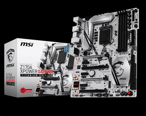Msi Z170a Xpower Gaming Titanium Edition drivers for msi s new z170a xpower gaming titanium edition board