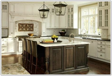 Custom Kitchen Cabinets Antique White   Cabinet : Home