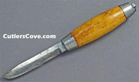 sweden knife barrel knife marked segerstrom eskilstuna sweden carbon