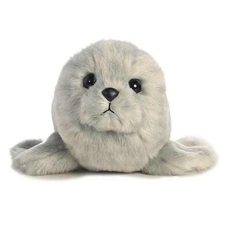 Boneka Harbor Seal Stuffed Animal Jumbo stuffed harbor seal mini flopsie stuffed safari
