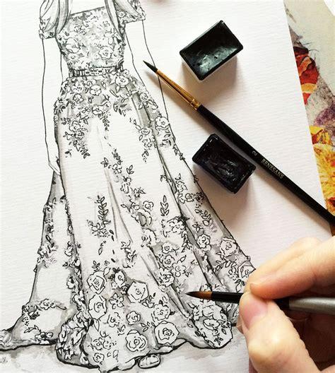 fashion illustration embroidery zuhair murad fashion illustration doll memories fashion illustrations fashion