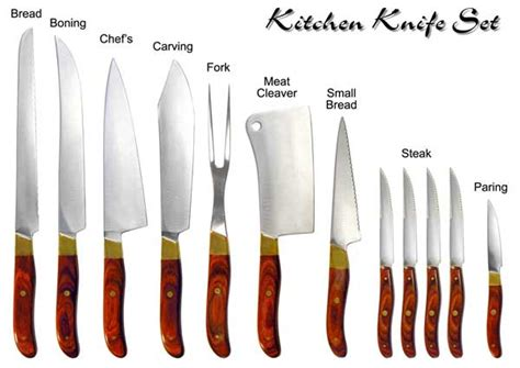 types of kitchen knives and their uses a review of the best kitchen knife sets