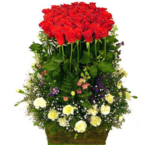 Bunga Plastik Hias Artificial Pot Pagar Kecil Mawar Fence Putih menanam bunga mawar ladang kecil