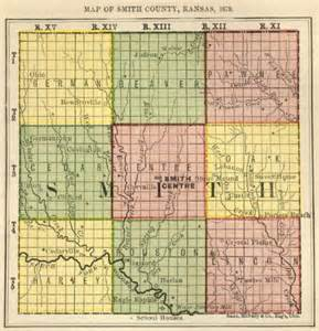 smith county map biennial report 1878 smith county kansas