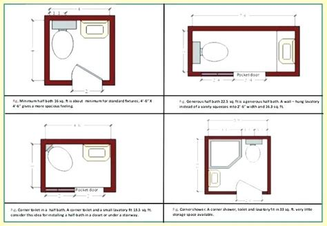 bathroom layouts small spaces
