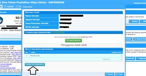 bio ra kartini pengguna dapodikdas 2015 tidak aktif ini solusinya