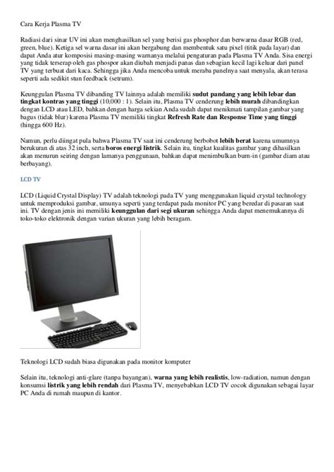 Gambar Dan Tv Lcd Murah tips memilih tv lcd atau led kualitas terbaik dan murah