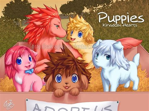 kingdom hearts puppies anime galleries dot net most viewed kingdom hearts puppies can u tell whos who pics