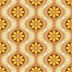 30 X 30 Sq Ft Home Design retro 1960s wallpaper mod generation daisy bradbury