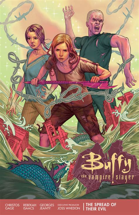 buffy season 11 volume 2 one in all the world buffy season 11 volume 1 the spread of their evil tpb