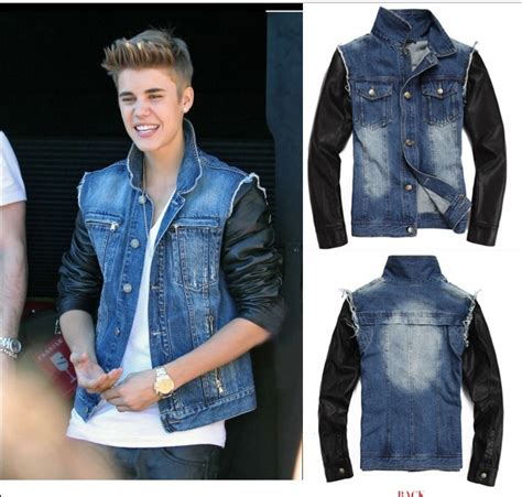 Just Say No To Sleeve Jackets by Brand New Mens Vintage Motorcycle Pu Leather Sleeve Denim