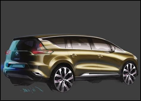 Renault Concept 2020 by 2020 Renault Espace Interior Concept Drawing New Suv Price
