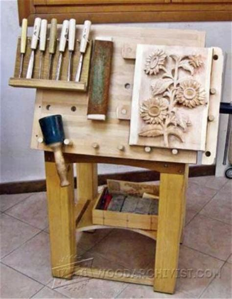 wood carving bench plans portable carving bench plans woodarchivist