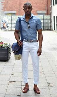 how to wear white jeans the idle man