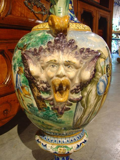 Antique Vases From Italy by Pair Of Antique Italian Vases Circa 1885 At 1stdibs