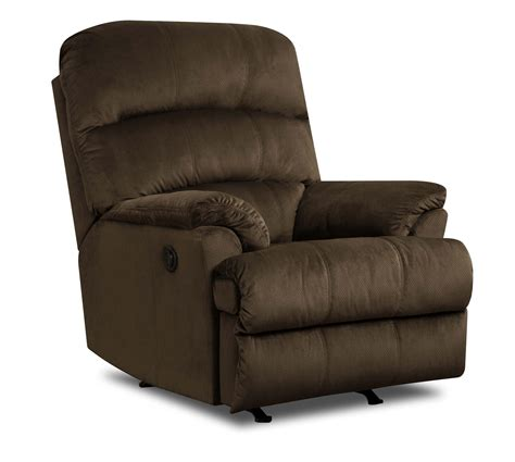 old brick recliners united furniture industries 271 casual rocker recliner